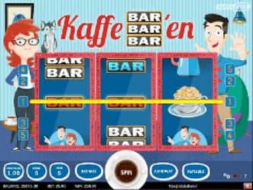 Kaffe BAR-BAR-BARen Slot